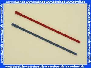 9820022 Tece Betätigungsstangen Stangen rot und blau