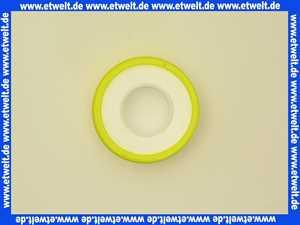 Teflon-Gewindedichtband für Feingewinde 12 mm breit, 0,10 mm stark, 12 m lang