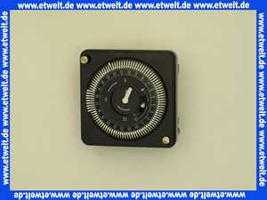 Vaillant Analog Schaltuhr für Regler VRC-CB, CBB, CM Zeitschaltuhr 253215