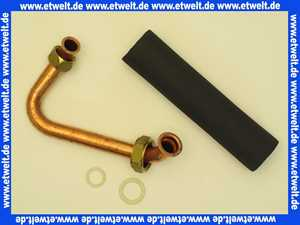 Vaillant 0020038601 Rohr (mit Isolierung) VSC 126-196/2-C..., 246/2-C21