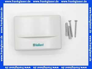Funkuhrempfänger VRC DCF Vaillant mit integriertem Aussenfühler 009535
