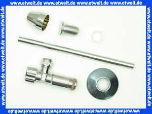 92088861 Villeroy & Boch Umrüstsatz bestehend aus: Eckventil, Kupferrohr, Blindstopfen