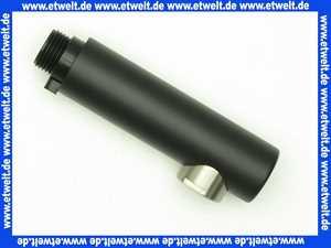 925205S5 V&B Brausekopf Schwarz Ebony