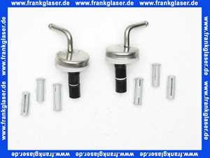 99430161 Villeroy & Boch Scharniersatz für WC-Sitz Serie Colani
