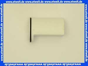 317232 Viega Baugruppe Tauchrohr Kunststoff weiss für Duschablauf Brausetasse für Baureihe 1996 bis 2015
