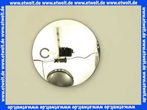 615154 Ausstattungsset Feinbauset Deckel Abdeckung Diana für Domoplex verchromt für Duschwannen mit 52mm Ablauf Viega