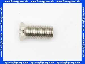 122485 Viega Schraube M12 x 1.5 x 28 messing matt-vernickelt zur Befestigung des Ventiloberteils der Multiplex und Multiplex Trio