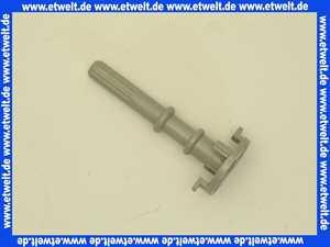 137977 PVC-Achse hellgrau 84mm für Viega Drehgriff zu Multiplex-Trio