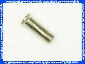 139605  Viega Schraube 77139-593 in M12 x 1,5mm x 38mm Messing vernickelt