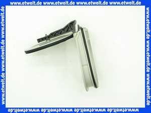 364885  Viega Klappe 4987.443 in DN125/100 Kunststoff handbetrieben