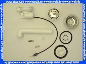 578893 Viega Ablaufventil 7139.16 für Spülen mit Bowdenzugmechanik