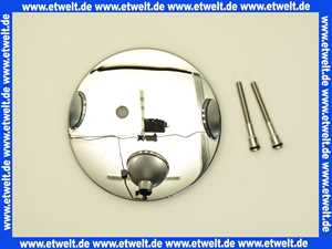 581633 Viega Temposet Ausstattungsset Deckel Abdeckung verchromt Durchmesser 11,2 cm
