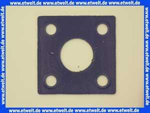 7810010 Viessmann Kesselflanschdichtung 108 x 108 x 3 DN40 108x108x3