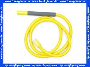 T2V-08-54 Vola Dusch-Schlauch mit Handbrause Farbe Gelb