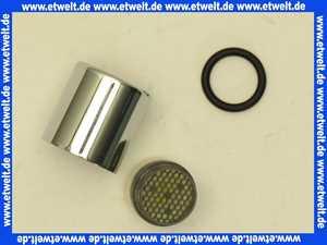 VR17L9K16 Vola Perlator® Strahlregler Mischdüse Luftsprudler Siebeinheit inklusive Hülse verchromt