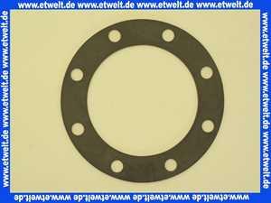 039807 Wikora Flanschdichtung Dichtung für WBO 150 Warmwasserspeicher