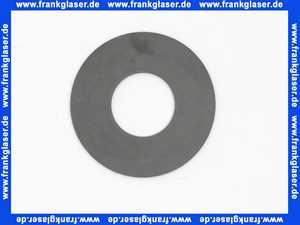1411988440 Gummi-Dichtung Glockendichtung Heberglockendichtung für Wisa Spülkasten Dichtung 65mm Loch 28,5 mm Bodenventildichtung für Ablaufventil