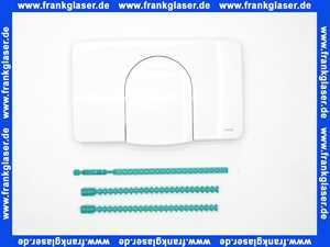 104001 Wisa Betätigungsplatte Drückerplatte Abdeckplatte weiß für Unterputzspülkasten