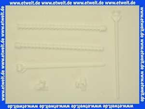 8050390109 Wisa Set Montagestifte XS zur Montage der XS Bedienungs-Platte DF 8050.390109