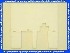 1614017 Wolf Isolierung für Brennerplatte NG-3E-17