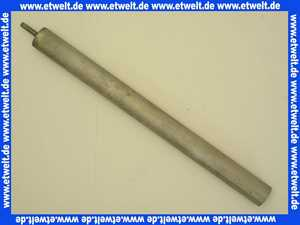 2445102 Wolf Magnesiumanode Schutzanode, L:350 für SW-70/120 AE Anode Opferanode