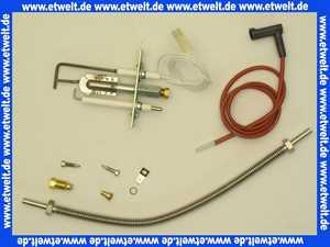 8750018 Wolf Zündbrenner-Set f. TNG/CNG/FNG, NG-4E