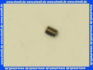 Gewindestift mit Innensechskant SW 2,5 und Ringschneide DIN 916 ISO 4029 A1 M5 x 5