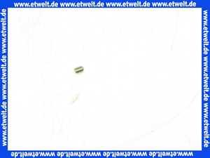 026134 Gewindestift DIN 913/ISO 4026 M3 x 4 A1 mit Innensechskant SW 1,5 und Kegelkuppe