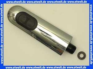 KWC Auszugbrause Brause Spülbrause verchromt für KWC Orcino Spülenarmatur mit langem Hebel