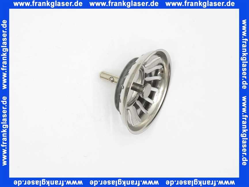 125590 Blanco Siebkorbchen Standard 35 Zoll Zapfen AL