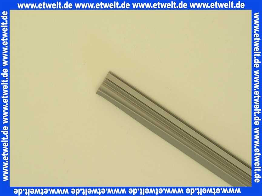 250420 Duscholux Dichtleiste Grau Dichtlippe Dichtung Duschture