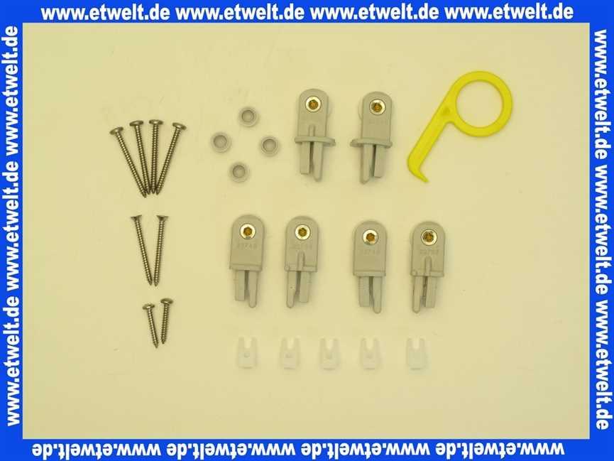 751620030 Duscholux Rollenhalter Set Fur Optima 1