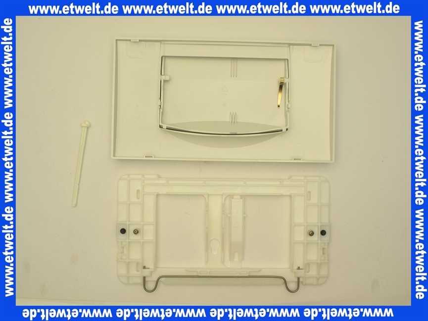 abdeckplatte dr ckerplatte geberit 200 f weiss bet tigungsplatte f r unterputz. Black Bedroom Furniture Sets. Home Design Ideas