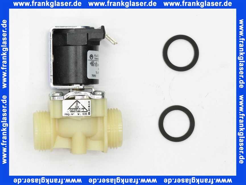 240803001 geberit magnetventil 24 v mit dichtungen f urinal ir electronic baujahr 1979 1981. Black Bedroom Furniture Sets. Home Design Ideas