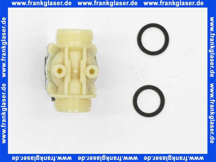 240803001 geberit magnetventil 24 v mit dichtungen f. Black Bedroom Furniture Sets. Home Design Ideas