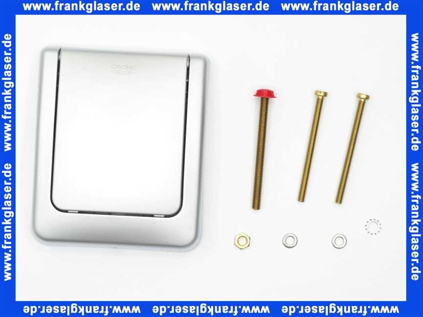 43048p00 grohe dal classic urinal abdeck dr ckerplatte mattchrom 4005176177552. Black Bedroom Furniture Sets. Home Design Ideas