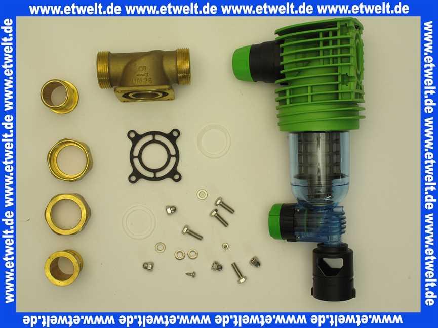 Rückspülfilter Boxer Rd 1 Zoll Mit Druckminderer 101360