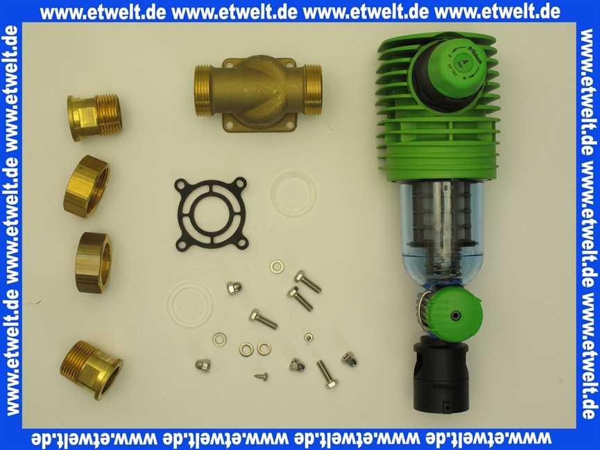Wasser Rückspülfilter Boxer Rd 1 1 4 Mit Druckminderer