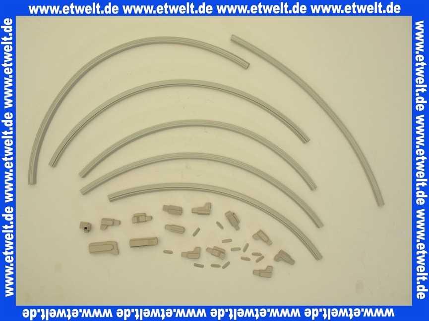 036556 h ppe clivia top segmentdichtsystem f bw faltwand 3 teilig. Black Bedroom Furniture Sets. Home Design Ideas