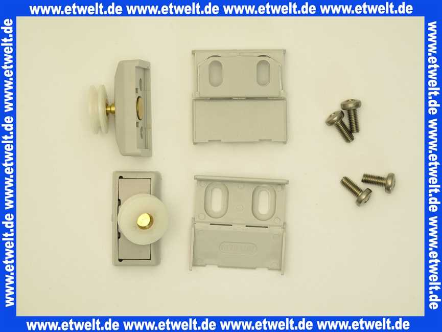 Hüppe Duschabtrennung Ersatzteile : 040352080 h ppe gleitrollen f r 1 4 kreis mit schiebet ren ~ Watch28wear.com Haus und Dekorationen