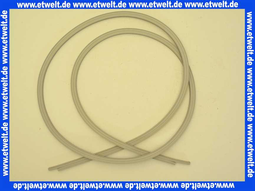 054244 h ppe magnetdichtleisten satz mit zwei st ck ersatzteile f r. Black Bedroom Furniture Sets. Home Design Ideas