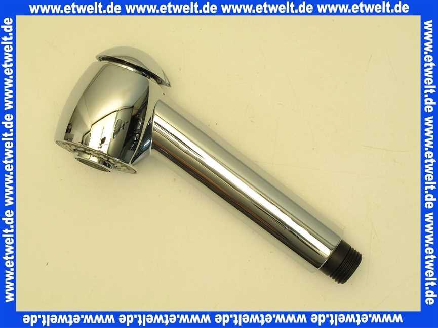 A 962426 Aa Ideal Standard Handbrause Spulbrause Fur Sinus Chrom