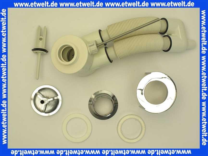 n8326aa ideal standard ideal flow ab und ueberlauf f r. Black Bedroom Furniture Sets. Home Design Ideas