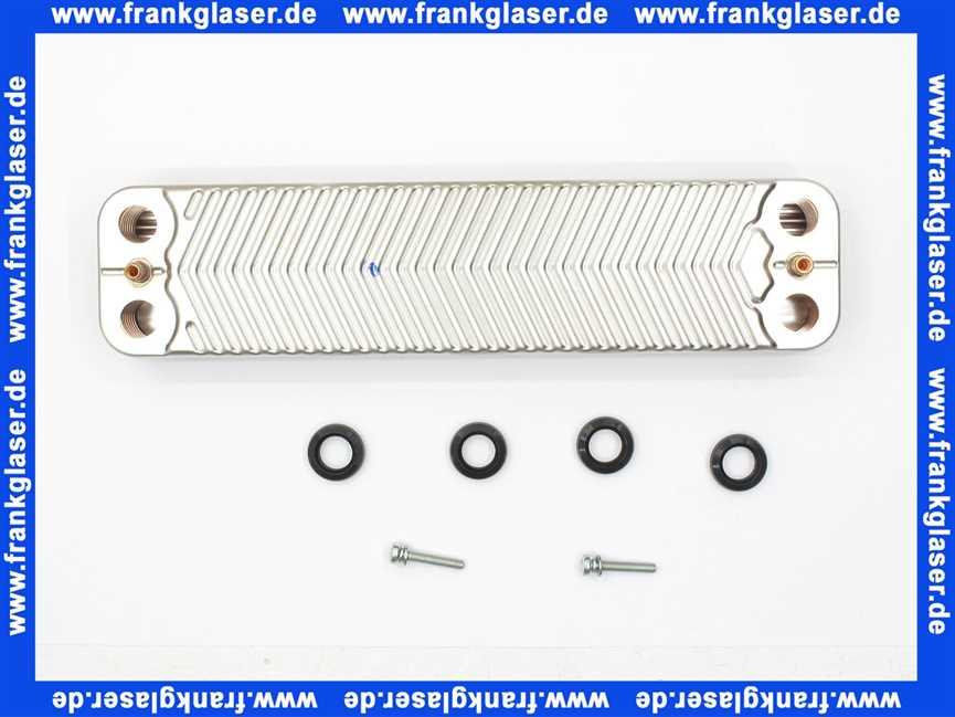 87161064360 Junkers Wärmeübertrager Plattenwärmetauscher für ZBS16 ...