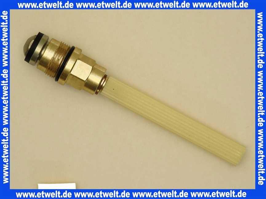 Unterteil // Ventilk/örper Dampfabsperrventil 01603 Wilesco ET Unterteil