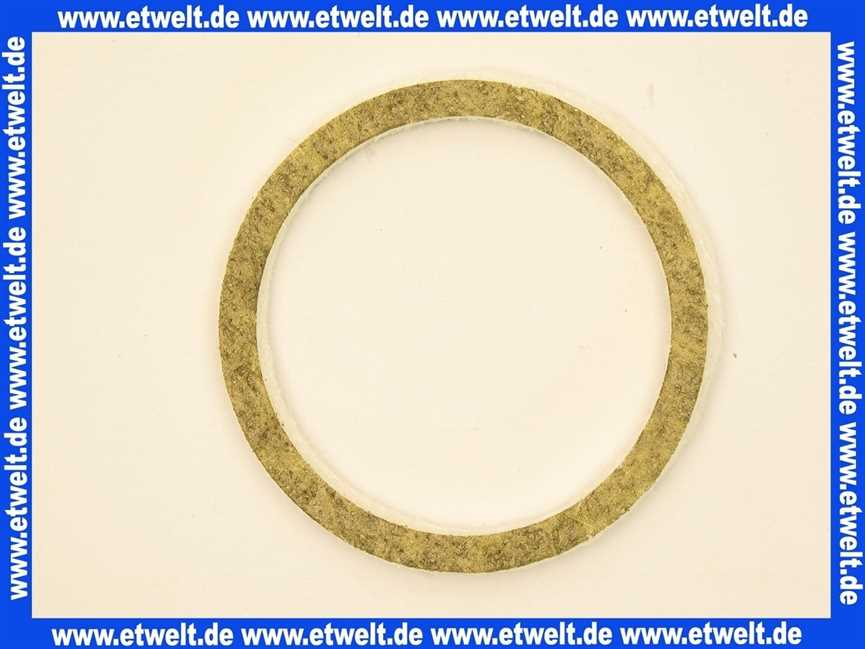Dichtkantenring für Ölvorwärmer MAN RE und DE 95.23199-0011 Dichtung O-Ring