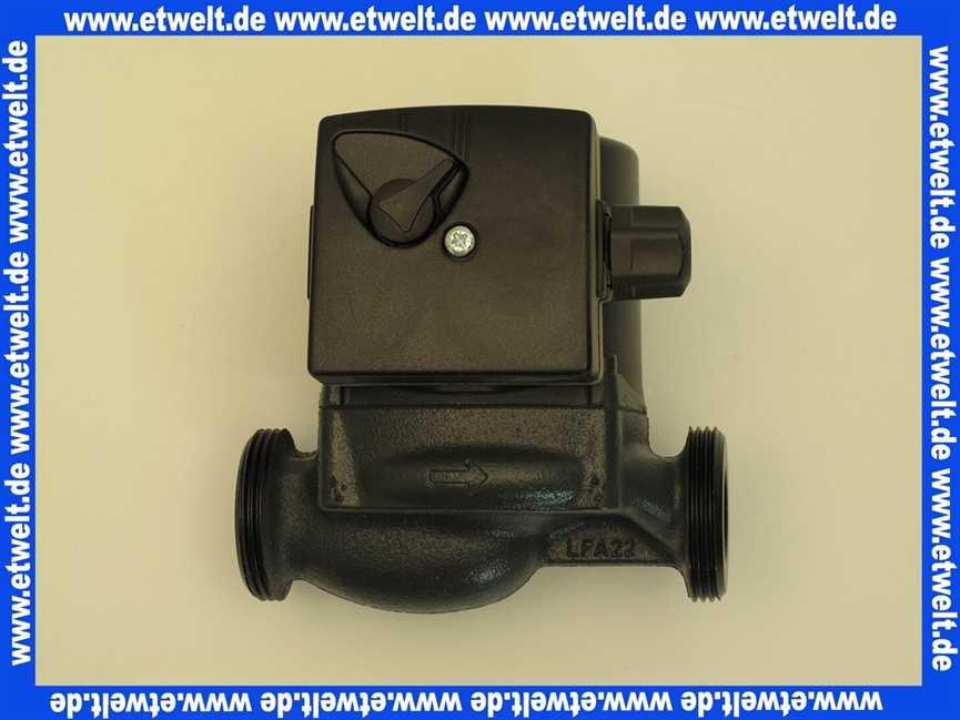 SIEGER//Buderus Ersatzteil Pumpe UPS 25-50 130mm MK3