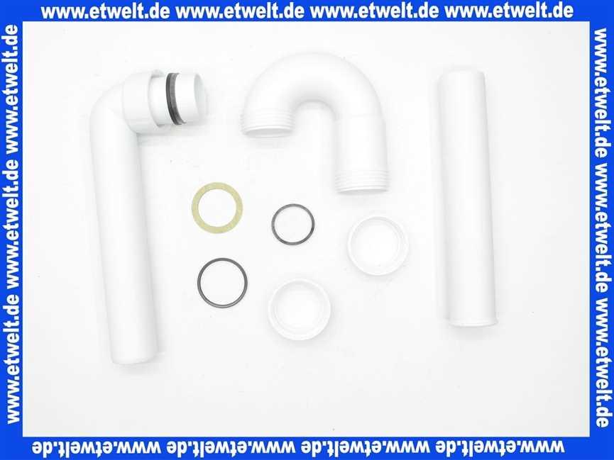 Röhrensifon Kunststoff DN40 G11//2 Sifon z.B für Spülbecken