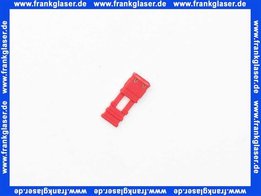 stiebel eltron 283455 kodierstecker rot f ersatzteile f r jedermann. Black Bedroom Furniture Sets. Home Design Ideas