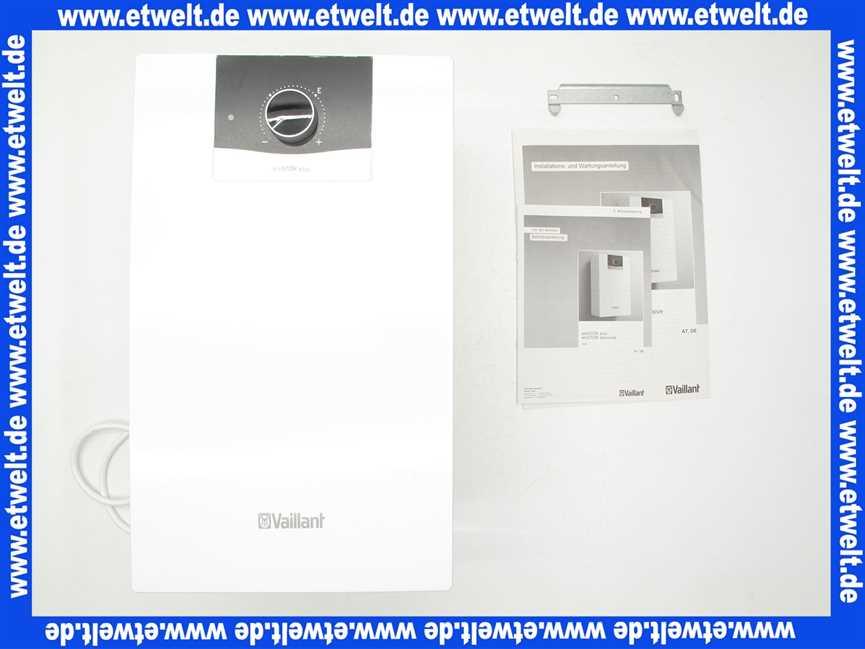 0010021140 Vaillant Elektro 5 Liter Untertischgerät eloSTOR VEN 5/7 ...
